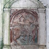 Bas-relief (saint Martin ?) (2001)