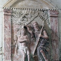 Bas-relief du baptême du Christ (2001)