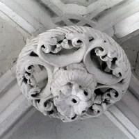 Clef de voûte de la chapelle nord (2001)