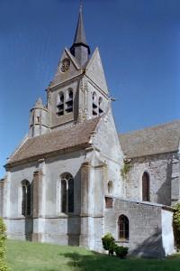 Vue partielle de l'église depuis le nord-ouest (2001)