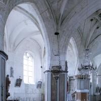 La chapelle nord vue vers le nord-est (2001)