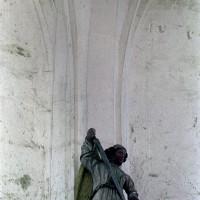 Retombée des voûtes dans la chapelle sud (2001)