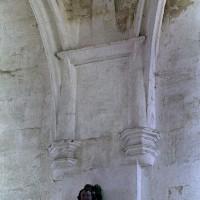 Retombée des voûtes de la chapelle nord (2001)