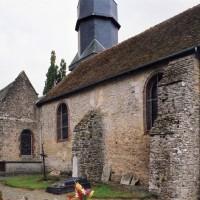 Vue partielle de l'église depuis le nord-ouest (2005)