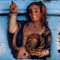 Détail de la charpente du choeur (2006)