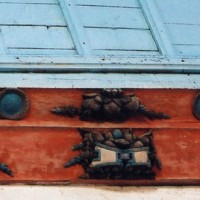 Sablière de la charpente du choeur (2006)