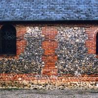 Le mur sud du choeur vu du sud (2005)