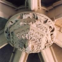 Clef de voûte de l'abside (2005)