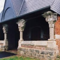 Le porche vu du sud-ouest (2004)