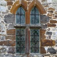 Fenêtre du mur nord de la nef (2016)