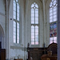 L'abside vue vers le nord-est (2003)