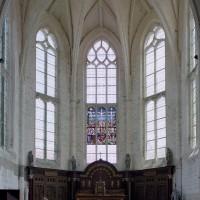 L'abside vue vers l'est (2003)