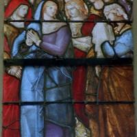 Détail du vitrail de la Crucifixion (2003)