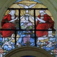 Vitrail de la chapelle nord (2003)