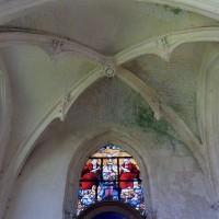 La voûte de la chapelle nord vue vers l'est (2003)