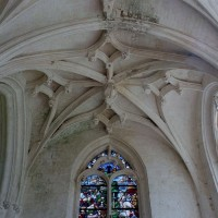 Les voûtes de la chapelle sud vues vers l'est (2003)