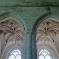 Les voûtes de la chapelle sud vues vers le sud (2003)