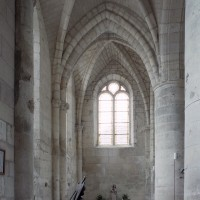 La chapelle nord vue vers l'est (2008)