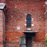 Vue partielle du mur sud de la nef depuis le sud (2003)