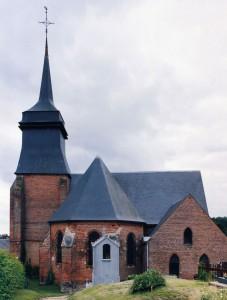 L'église vue de l'est (2003)