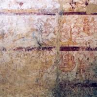 Détail de la fresque de la chapelle nord (2005)