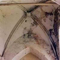 Voûte de la base du clocher vue vers l'est (2005)