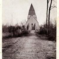 L'ancienne église en 1916