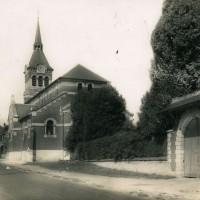L'église en 1955