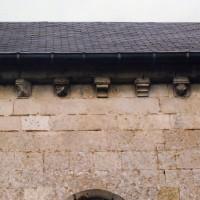Vue partielle du mur sud de la nef depuis le sud (2004)