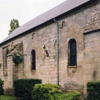 Vue partielle de la nef et du choeur depuis le nord-ouest (2004)