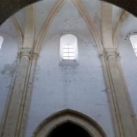 L'élévation du mur sud de la nef (2001)