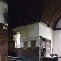 Le transept et le choeur vus vers le sud-est (2003)
