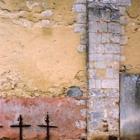 Détail du mur sud de la nef (2003)