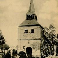 L'ancienne église en 1904