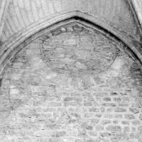 Oculus de l'éclairage primitif de la chapelle haute (1982)