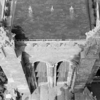 La face sud de la tour nord vue de la flèche (1970)