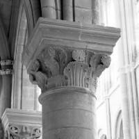 Chapiteau du bas-côté sud de la nef (1986)