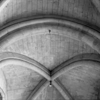 Arc-doubleau du bas-côté sud du choeur (1er type) (1986)