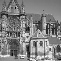 Vue partielle de la cathédrale depuis le sud (1986)