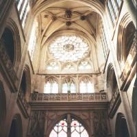 Le bras sud du transept vu vers le sud (2015)