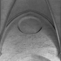 Les parties hautes du mur gouttereau nord de la travée droite du choeur (1993)