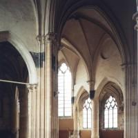 Le transept et le choeur vu vers le sud-est (1993)