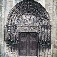 Le portail ouest (photo Bernard Mandin)