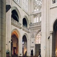 Le bras sud du transept vu vers le sud-est (1993)