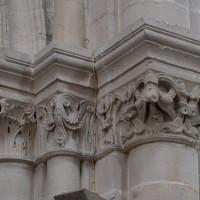 Chapiteaux du bas-côté sud de la nef (2018)