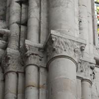 Chapiteaux des parties hautes du choeur conservés et retravaillés après l'incendie de 1504 (2018)