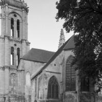 Vue partielle de l'église depuis le sud-est (1993)
