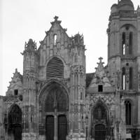 L'église vue de l'ouest (1993)