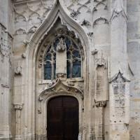 Le portail sud de la façade ouest (2018)
