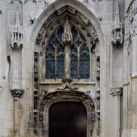 Le portail nord de la façade ouest (2018)